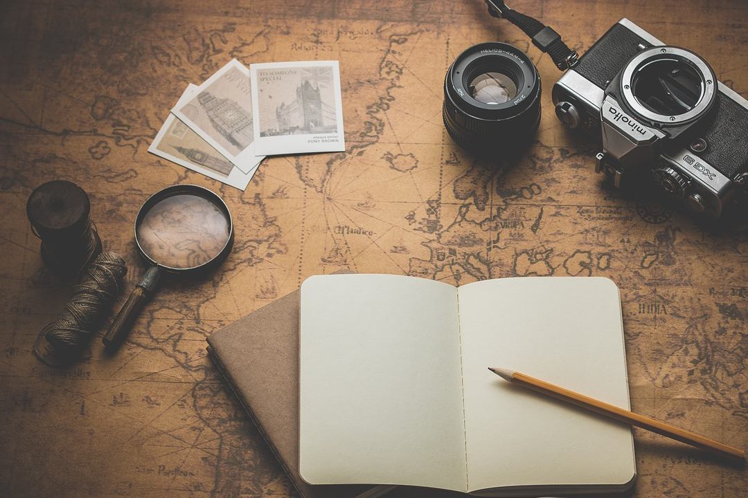 Escribe un libro con las rutas de tus viajes