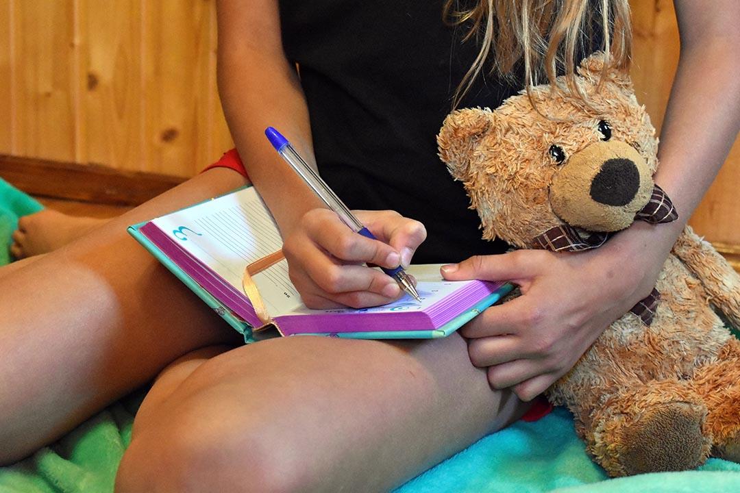 Un diario podría ser la mejor opción para que los pequeños escriban y lean también en verano