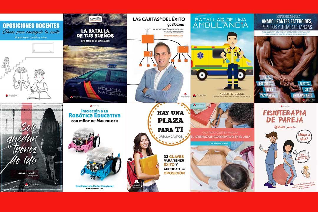 Estos son los libros más vendidos en Círculo Rojo en 2019